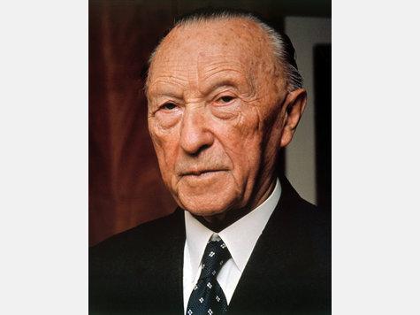 Konrad Adenauer Amtszeit