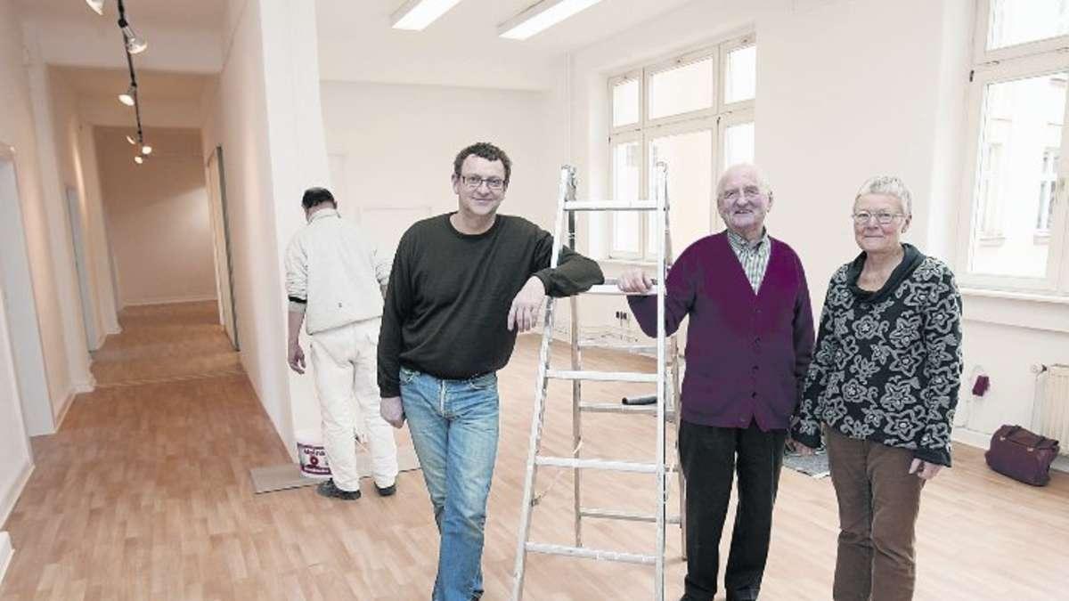 Private m zene f rdern einen ausstellungsraum an der for Offenbach kunst