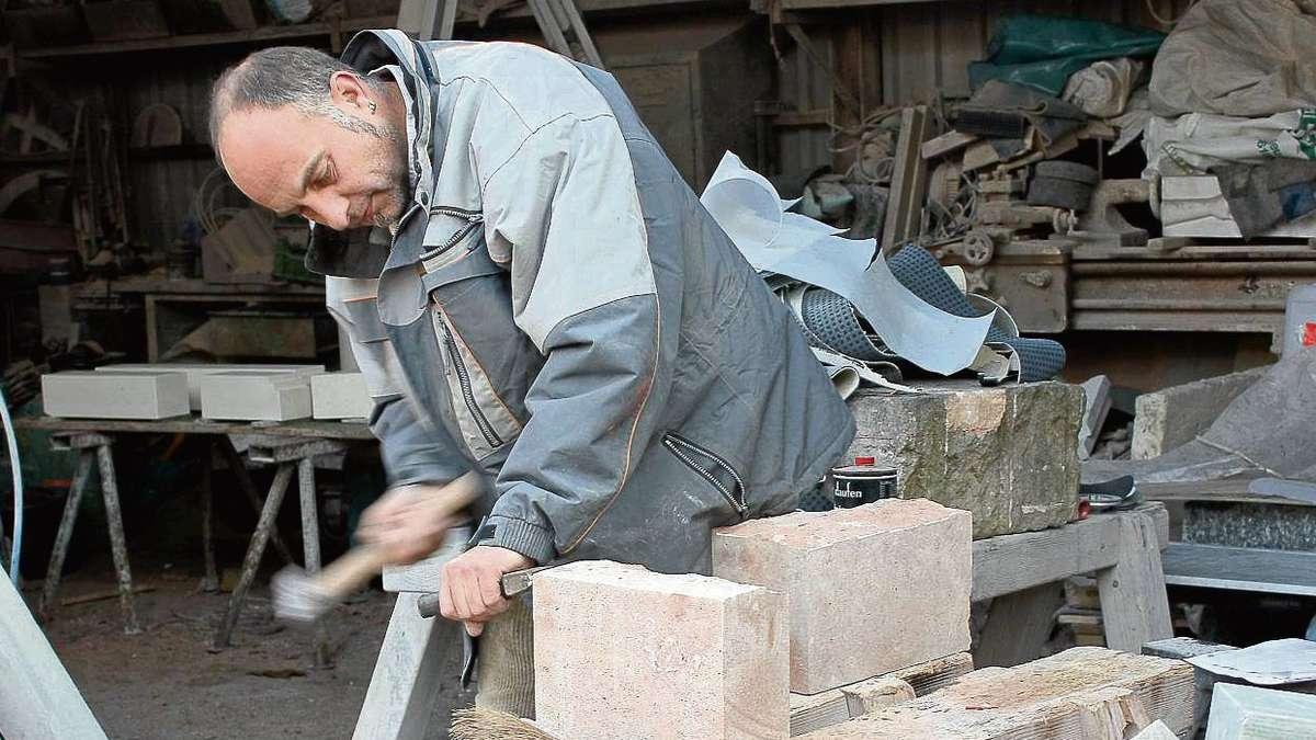 Steinmetzbetrieb von alex kaufmann und dirk wolff ist auf for Kaufmann offenbach