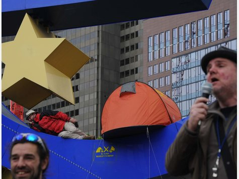 Polizei räumt Occupy-Protest-Camp