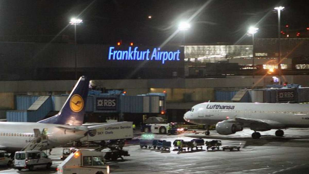 Frankfurt Airport Landungen