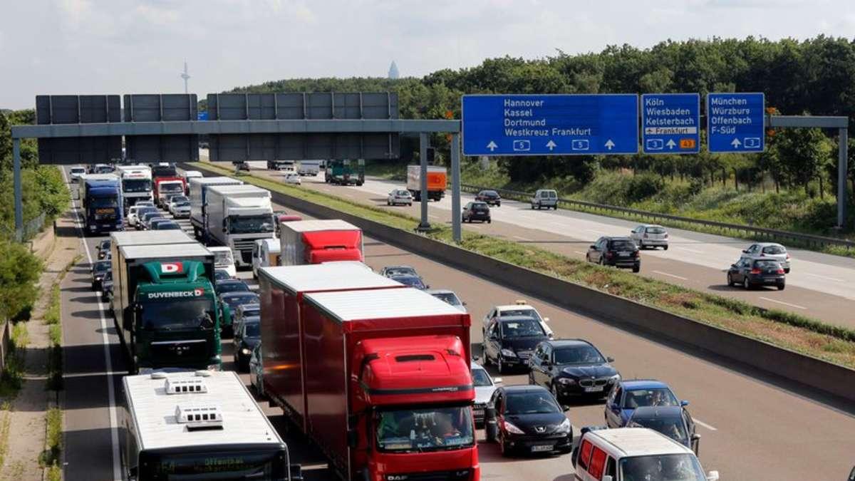 Unfall A5 Frankfurt Heute