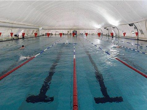 blasen im schwimmbad Offenbach am Main(Hesse)