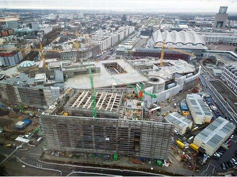 neben der messe frankfurt entsteht das neue einkaufszentrum skyline plaza f r 360 millionen. Black Bedroom Furniture Sets. Home Design Ideas