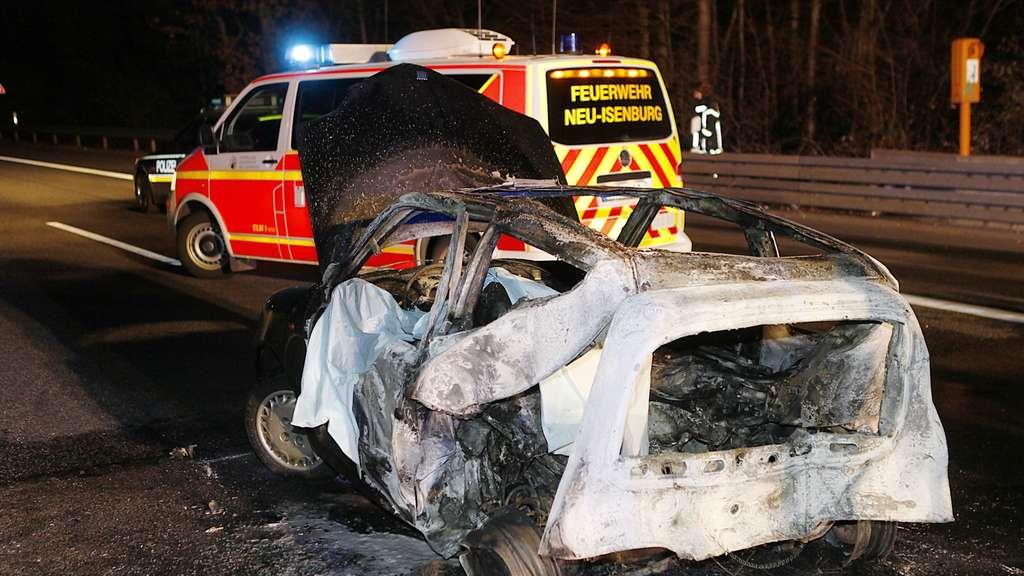 Unfall A661 Gestern