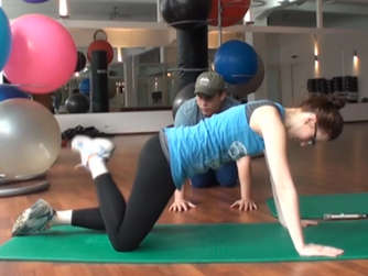 Fitness workout f r die perfekte sommerfigur video for Ui offenbach