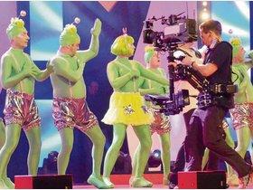 HR in Kulturhalle Ober-Roden: Narren vor der Fernsehkamera - op-online.de