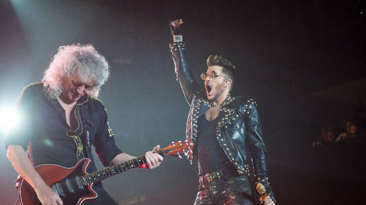 queen mit adam lambert in der festhalle frankfurt film. Black Bedroom Furniture Sets. Home Design Ideas