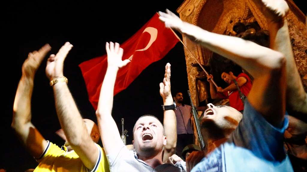 Attempted coup d&#39etat in Turkey