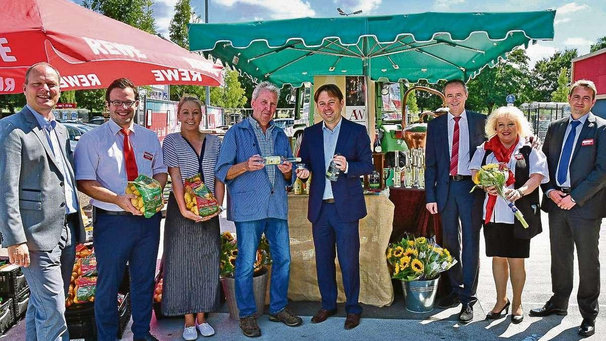 Rewe center in egelsbach setzt auf lokale erzeuger egelsbach for Rewe obertshausen