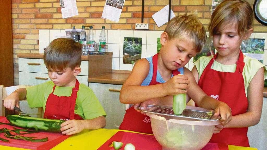 Projekt kinder kochen in den kitas in langen langen - Kann man reis in der mikrowelle kochen ...