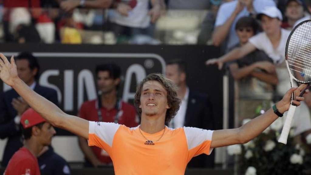 Turniersieg in Rom: Zverev schafft gegen Djokovic die Sensation