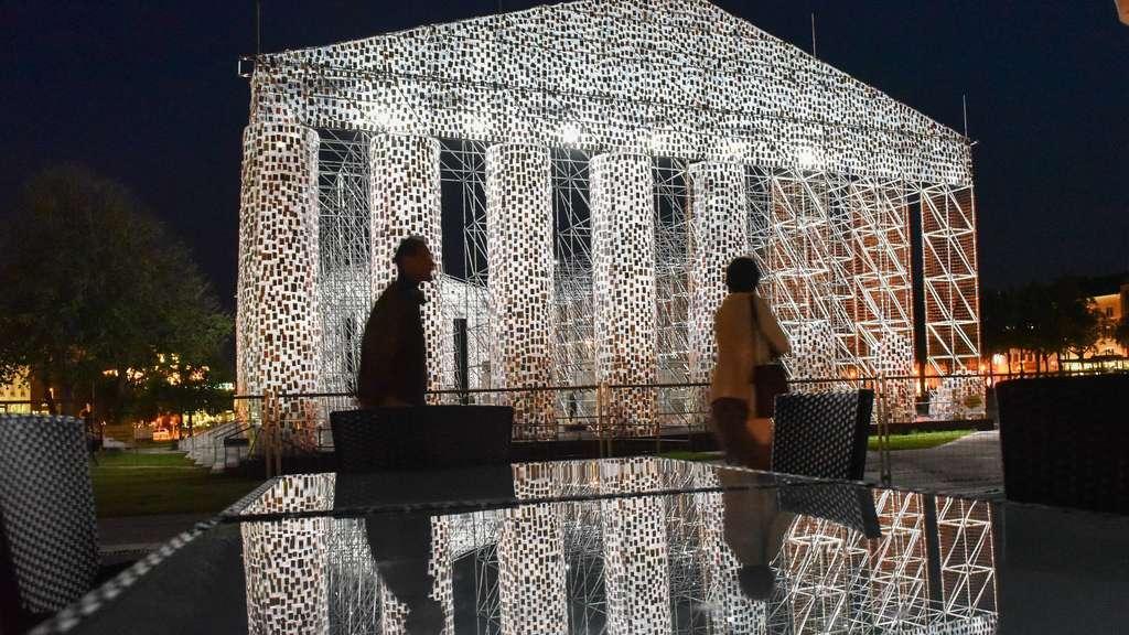 Die documenta in Kassel ist eröffnet Kunstausstellung
