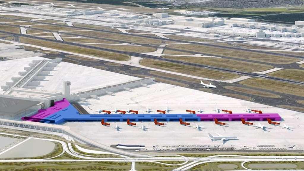 Flugsteig G: Bauantrag eingereicht