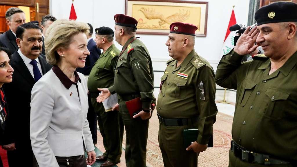 Von der Leyen will im Irak umsteuern
