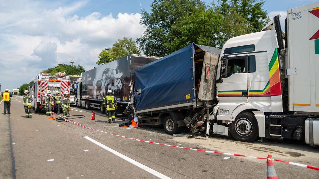 Verkehrsbehinderungen nach Lkw-Unfall auf A3 Richtung Frankfurt