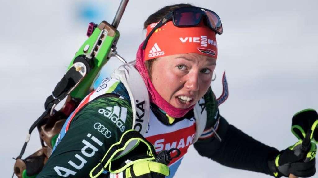 Deutsche Mixed-Staffel holt Silber in Östersund