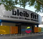Messehalle bleib fit