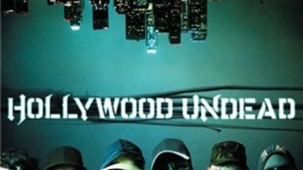 "CD-Cover ""Swan Songs"" der Gruppe ""Hollywood Undead"""