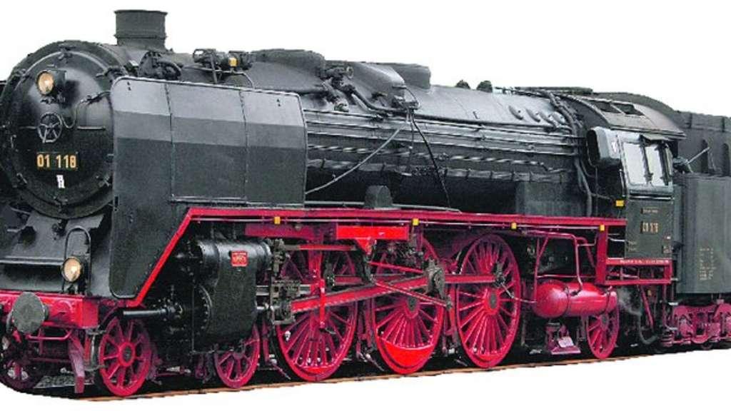 Das ist die 1934 gebaute Schnellzug-Lok des Vereins Historische ...