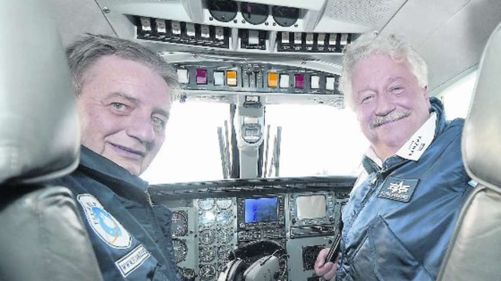 Reiner Meutsch (links) und sein Co-Pilot Arnim Stief