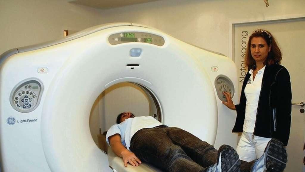 Eine Million Euro haben die Radiologen in ihre neue, moderne Praxis ...