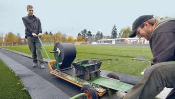 Das Neue Trainingsfeld Der Tsv Fussballer Nimmt Gestalt An Rodgau