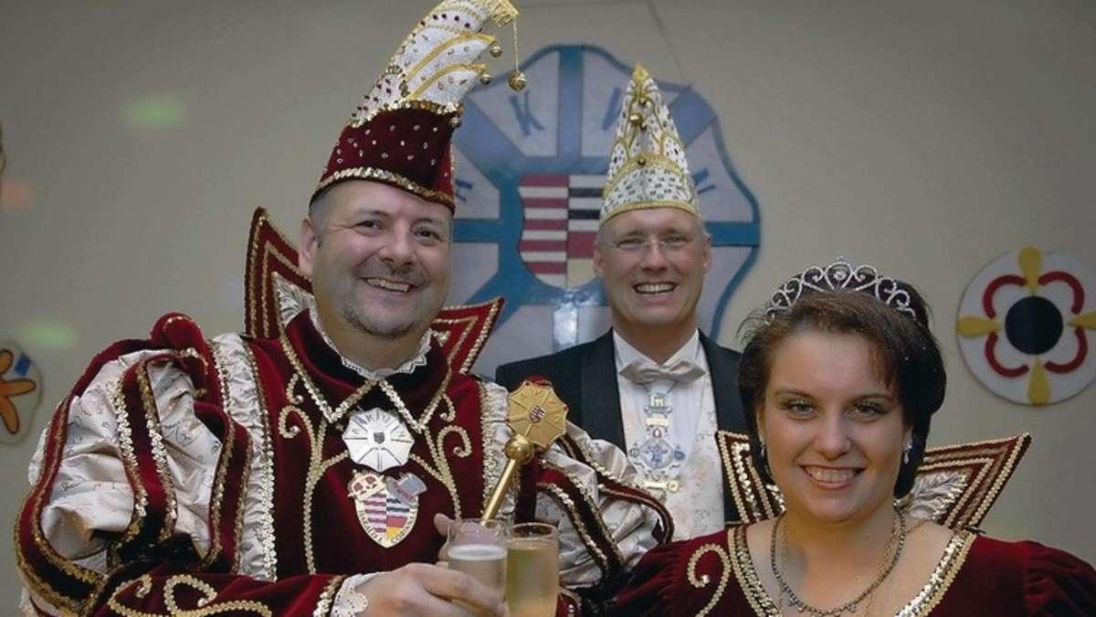 Prinzessin Corinna I. und Prinz Harald I. regieren bis ...
