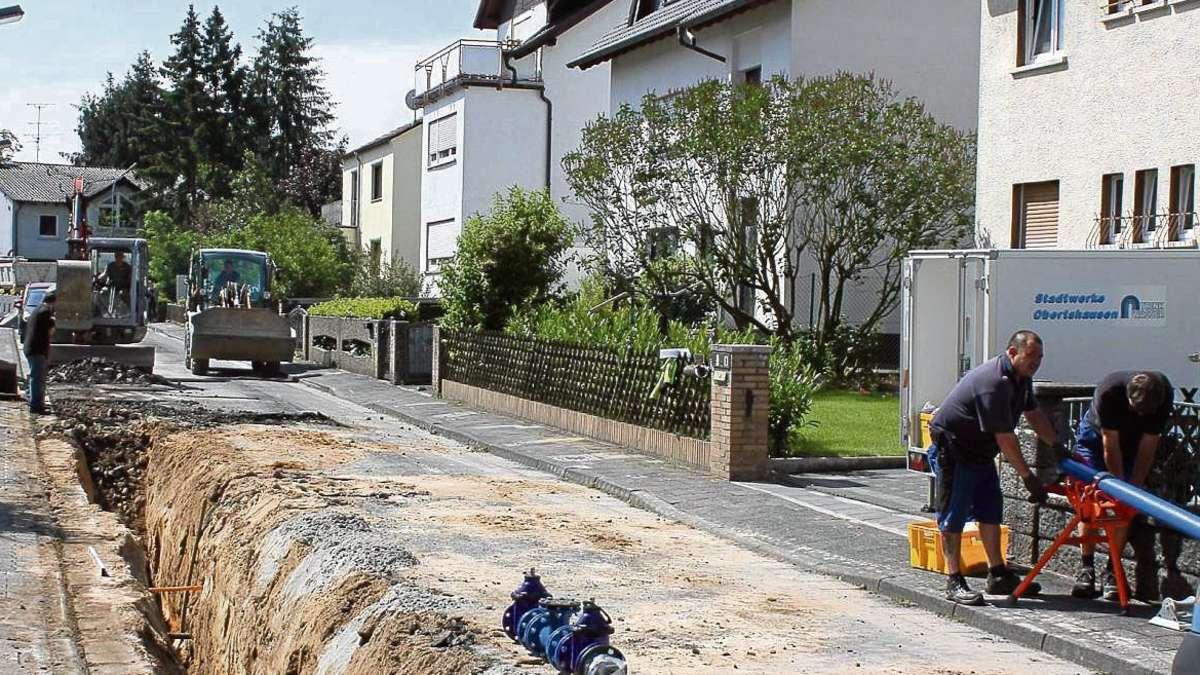 fahrbahn gehwege kanal und wasserleitung in der pommernstra e werden f r rund euro. Black Bedroom Furniture Sets. Home Design Ideas