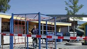 Klettergerüst Schule : Klettergerüst ggs grötzenberg