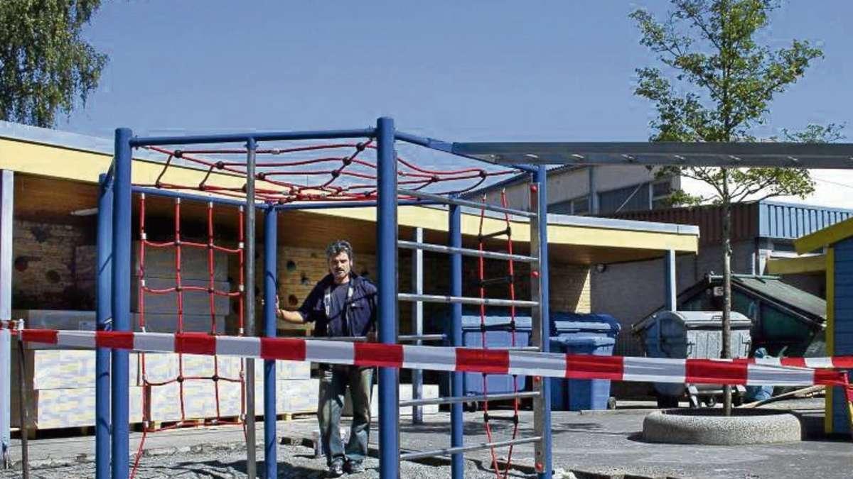 Klettergerüst Hangeln : Stephan gruber schule eppertshausen: kosten von 20.000 euro für das