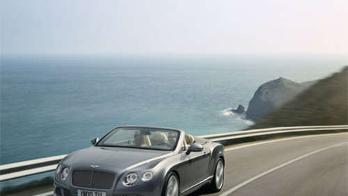 Lust auf Luxus? 575 PS Bentley Cabrio