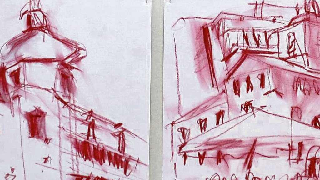 Skizzen Einer Grossstadt Die Rasante Form Von Architekten Kunstlern Und Kreativen Gewahrt Ungewohnliche Blicke