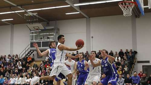 Basketball: White Wings besiegen Gotha Rockets