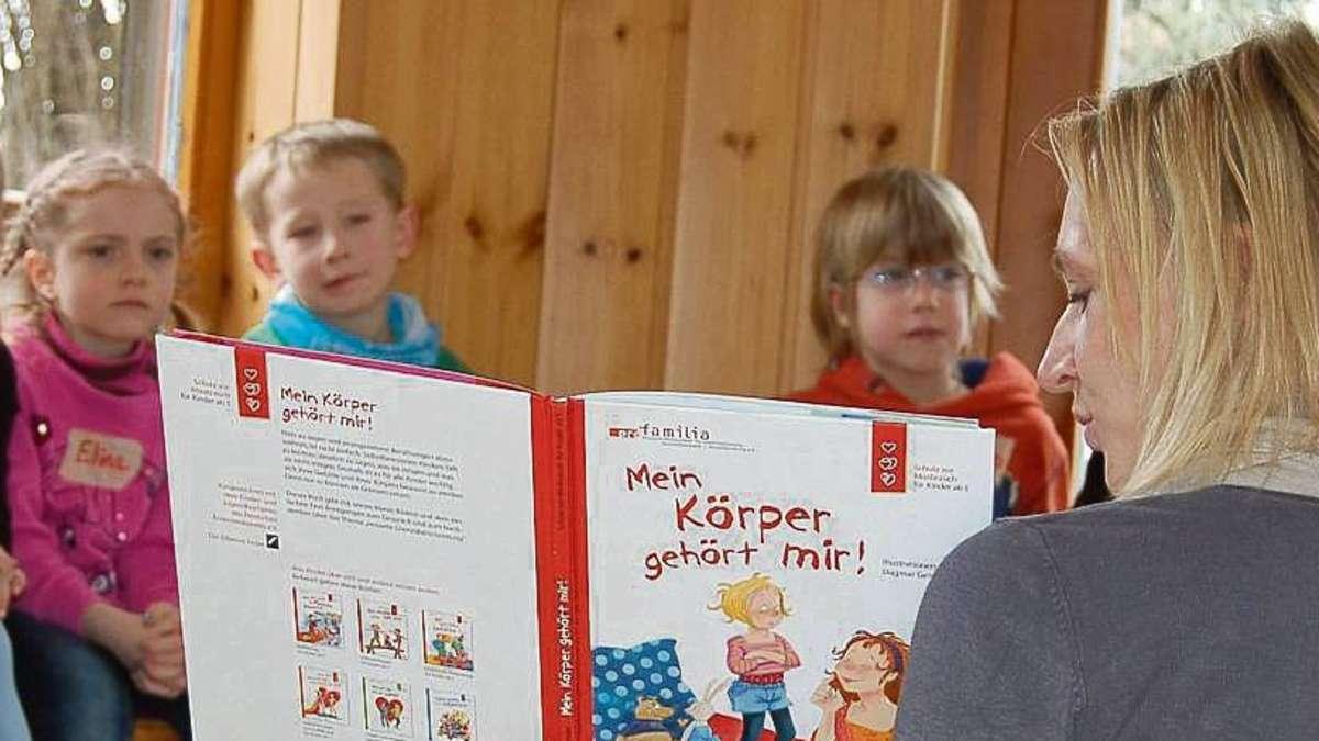 Im Selbstbehauptungskurs lernen die Altheimer Kindergartenkinder ...