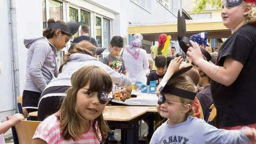 Piraterie in der Gruber-Schule