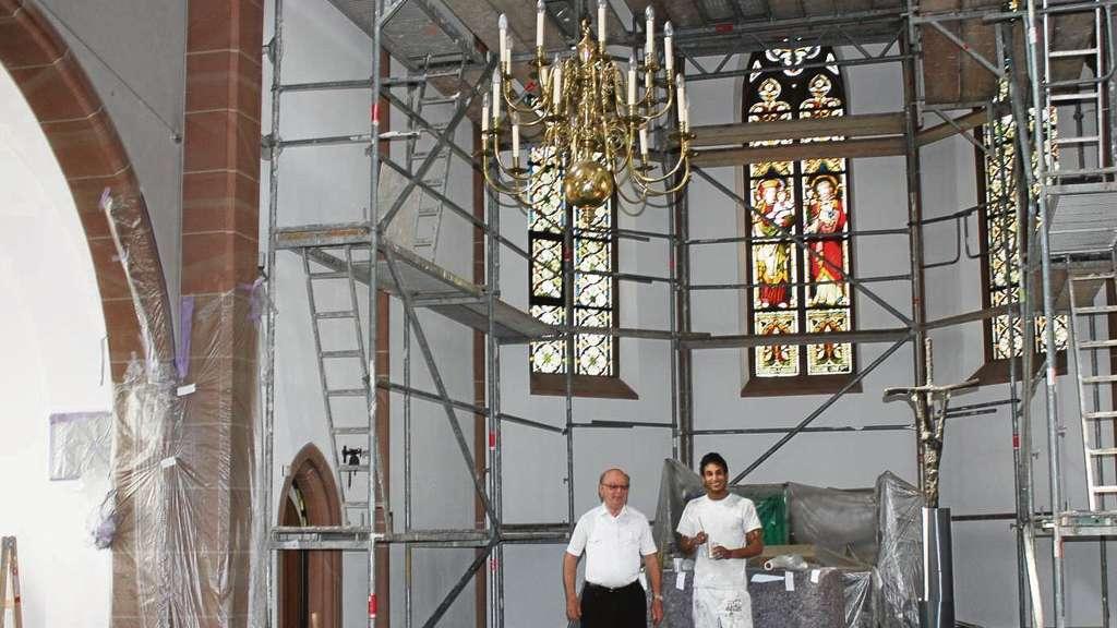 Pfarrkirche St Josef in Obertshausen wird derzeit