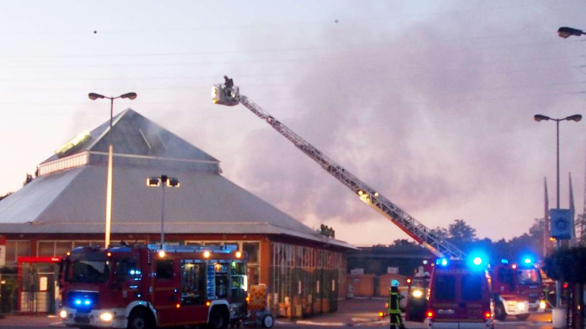 Brand Hanau Heute