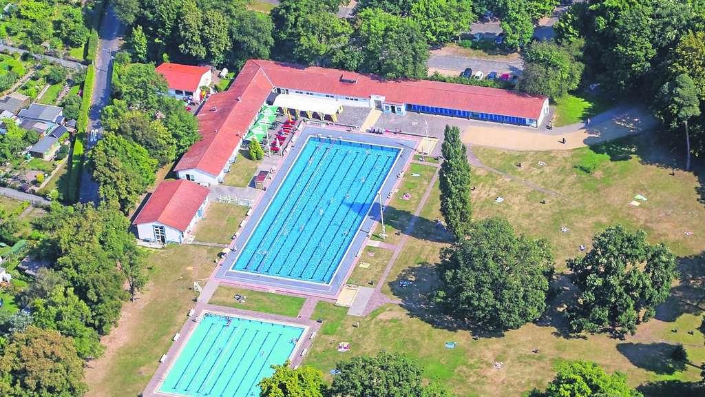 Waldschwimmbad Rosenhöhe Offenbach