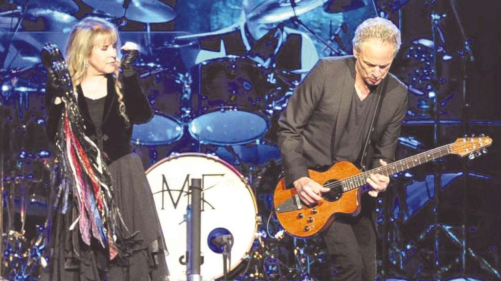 Versöhnte Krisengruppe: Stevie Nicks, Mick Fleetwood und Lindsey Buckingham in Köln.