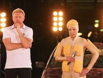 Boris Becker Oliver Pocher