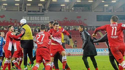 "Kickers holen ""Big Points"""