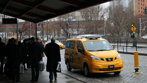 Revolution! Taxis von Nissan erobern New York