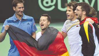 Davis Cup In Frankfurt Gegen Spanien Endet Mit Tennis Eklat Mehr Sport