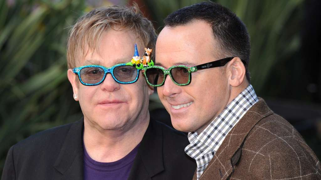 Elton John David Furnish Heirat