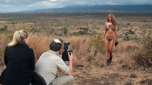 Miss Tuning Kalender 2015 - Making of in Kenia