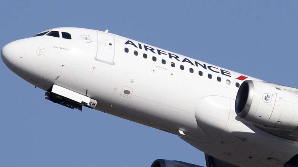 Air-France Flugzeug.