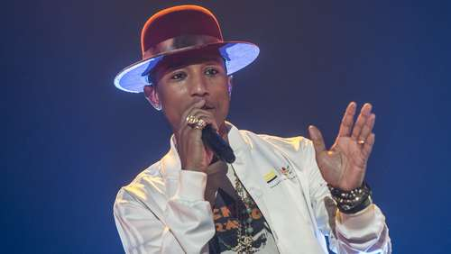 Pharrell Williams in der Frankfurter Festhalle