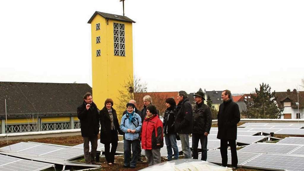 sonnenkraftwerk auf dach der ernst reuter schule in dietzenbach dietzenbach. Black Bedroom Furniture Sets. Home Design Ideas