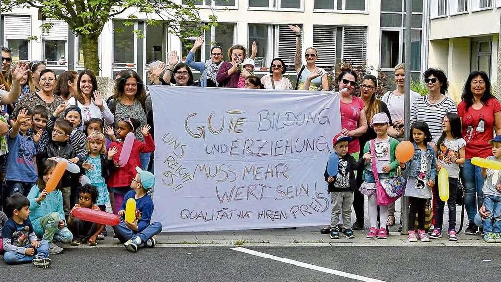 Kita Streik Frankfurt